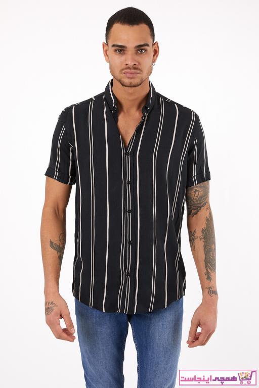 پیراهن اسپرت مردانه ترکیه برند DFC GİYİM رنگ مشکی کد ty93709659