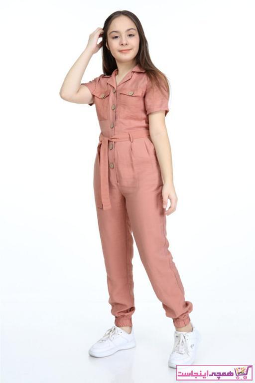 تولوم دخترانه طرح دار برند polyanna رنگ نارنجی کد ty93876097