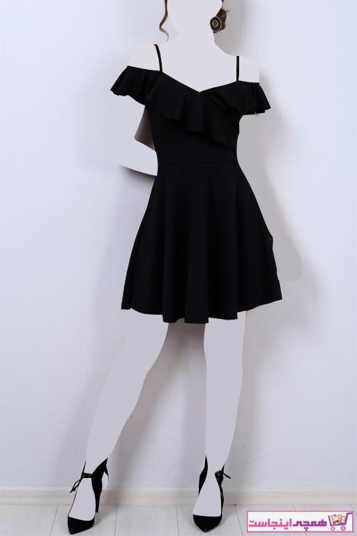 لباس مجلسی زنانه شیک مجلسی برند tknfashion رنگ مشکی کد ty94049441