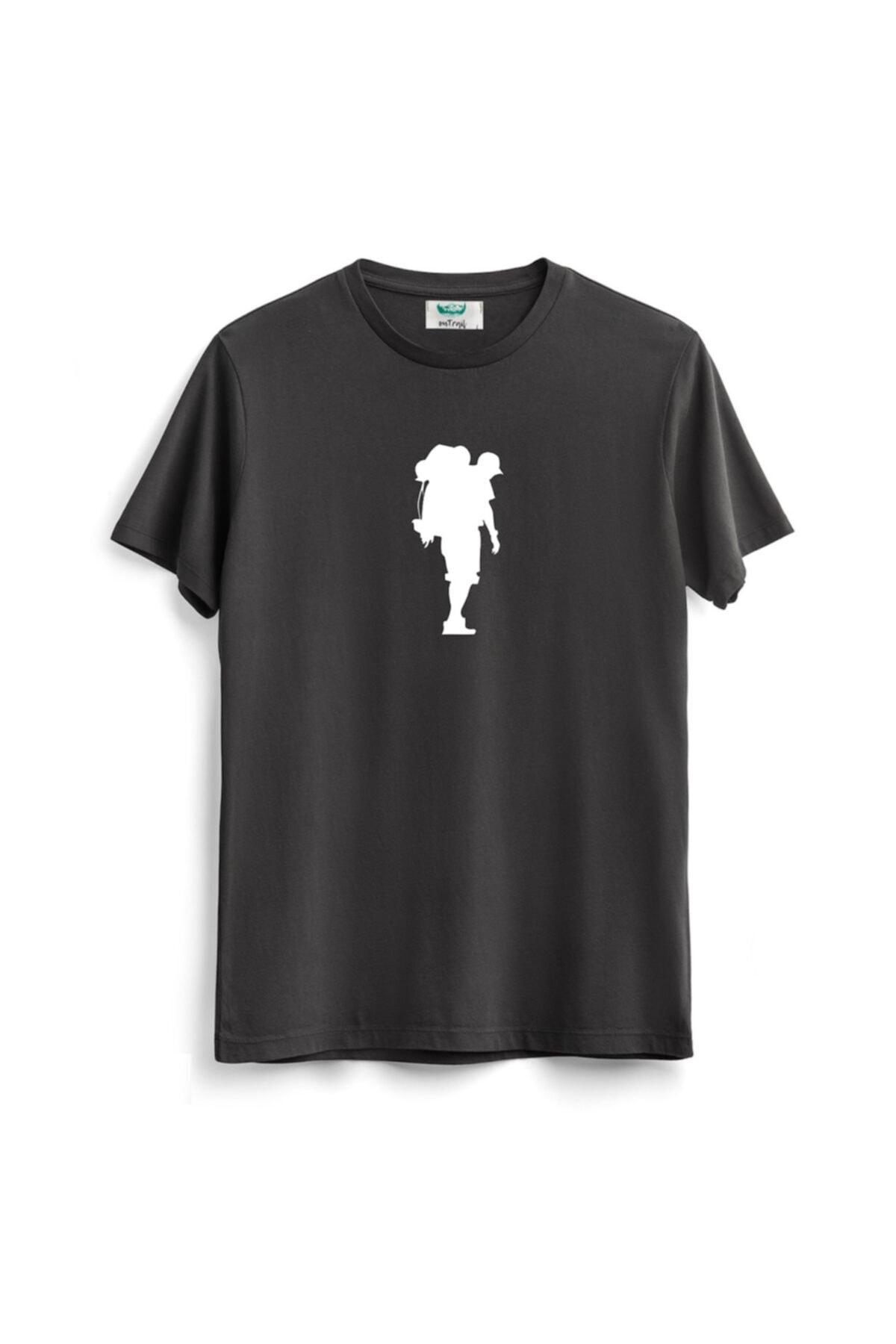 خرید اینترنتی تی شرت بلند برند Outrail رنگ نقره ای کد ty94560892