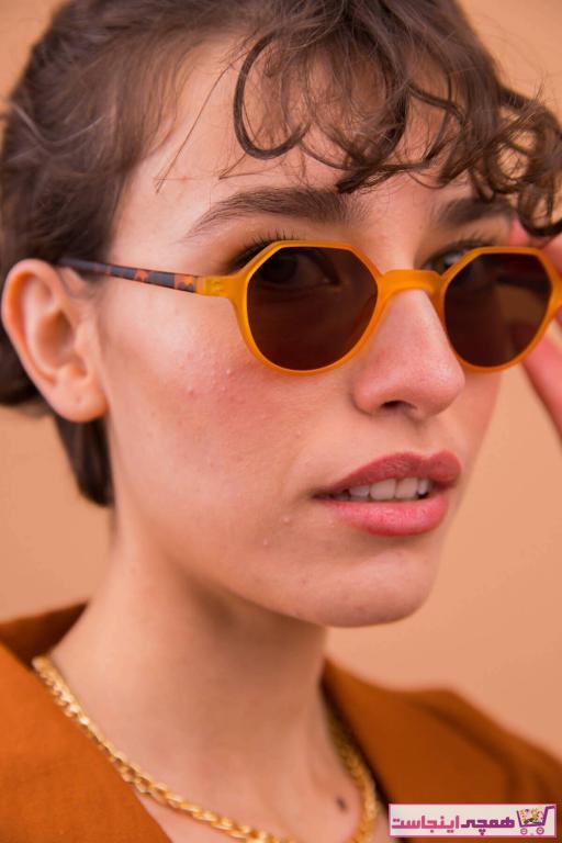 عینک آفتابی زنانه اسپرت جدید برند Bilge Karga رنگ نارنجی کد ty95031794
