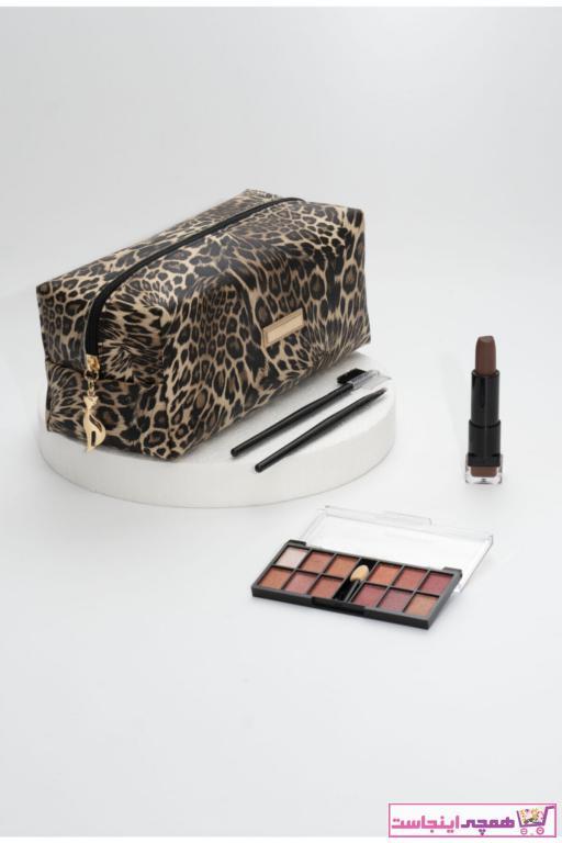 کیف لوازم آرایش زنانه جدید برند Rof Bag رنگ قهوه ای کد ty96855492