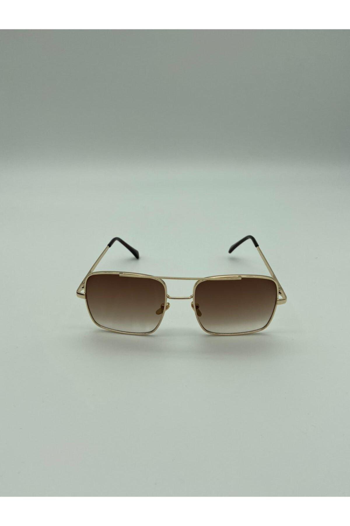 خرید انلاین عینک آفتابی جدید مردانه شیک برند ultima bala رنگ زرد ty97010768