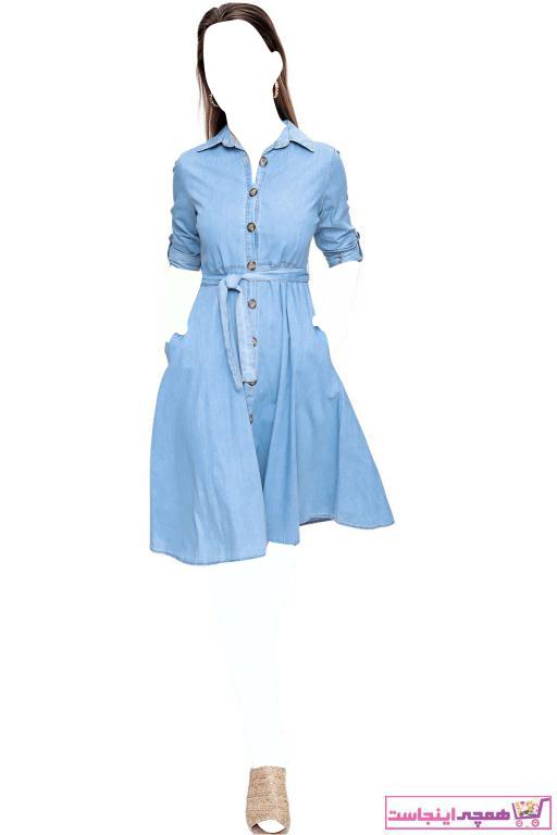 فروش اینترنتی پیراهن زنانه با قیمت برند butikburuç رنگ لاجوردی کد ty97796175
