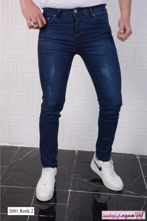 شلوار جین مردانه اسپرت برند Rich Point رنگ آبی کد ty97825354