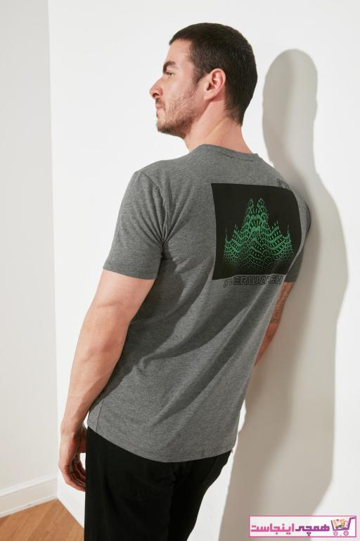 تیشرت مردانه فروش مارک ترندیول مرد رنگ نقره ای کد ty98344173
