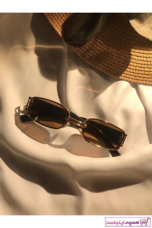 خرید اسان عینک آفتابی زنانه اسپرت جدید برند GEBBS STORE رنگ قهوه ای کد ty98782090