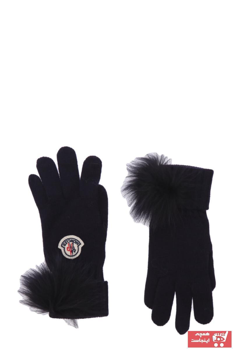 دستکش خاص برند Moncler رنگ لاجوردی کد ty100106722
