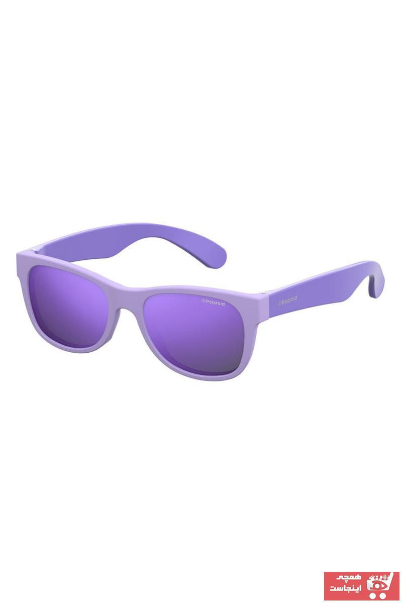 خرید ارزان عینک آفتابی فانتزی دخترانه برند Polaroid Kids رنگ بژ کد ty33199203