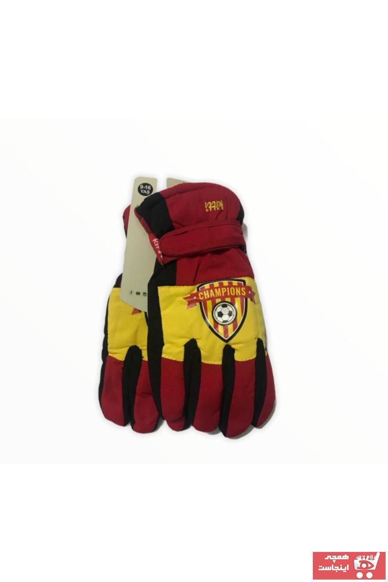 سفارش انلاین دستکش بچه گانه دخترانه ساده برند Kitti رنگ قرمز ty77852960