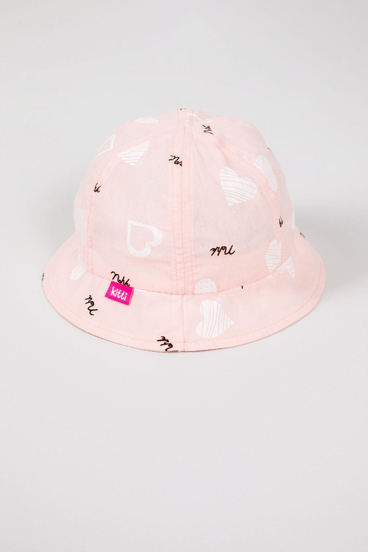 ژورنال کلاه نوزاد دختر برند Krazber رنگ صورتی ty104278218