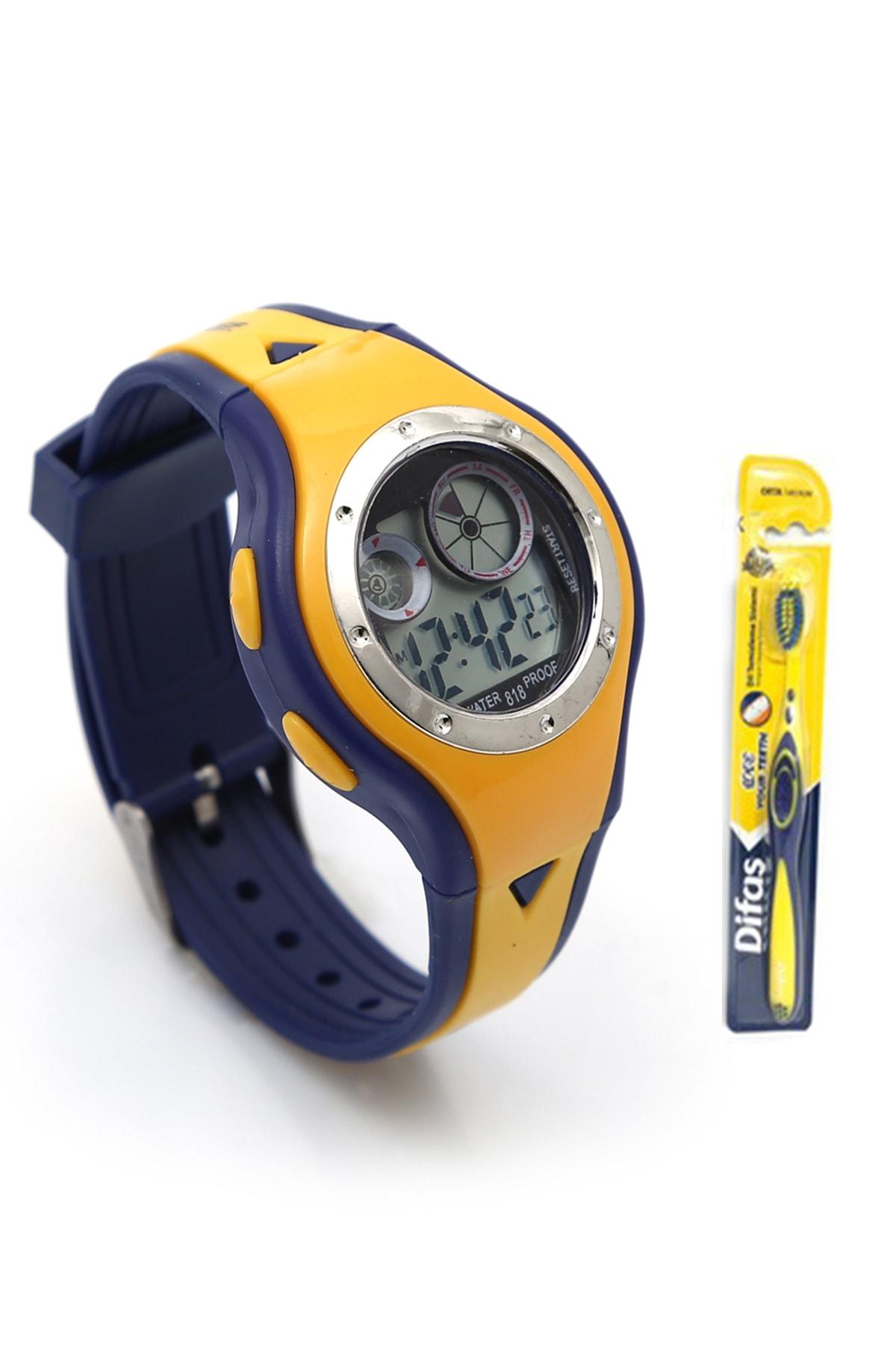 ساعت بچه گانه شیک مجلسی برند KUSTAR رنگ زرد ty34792277