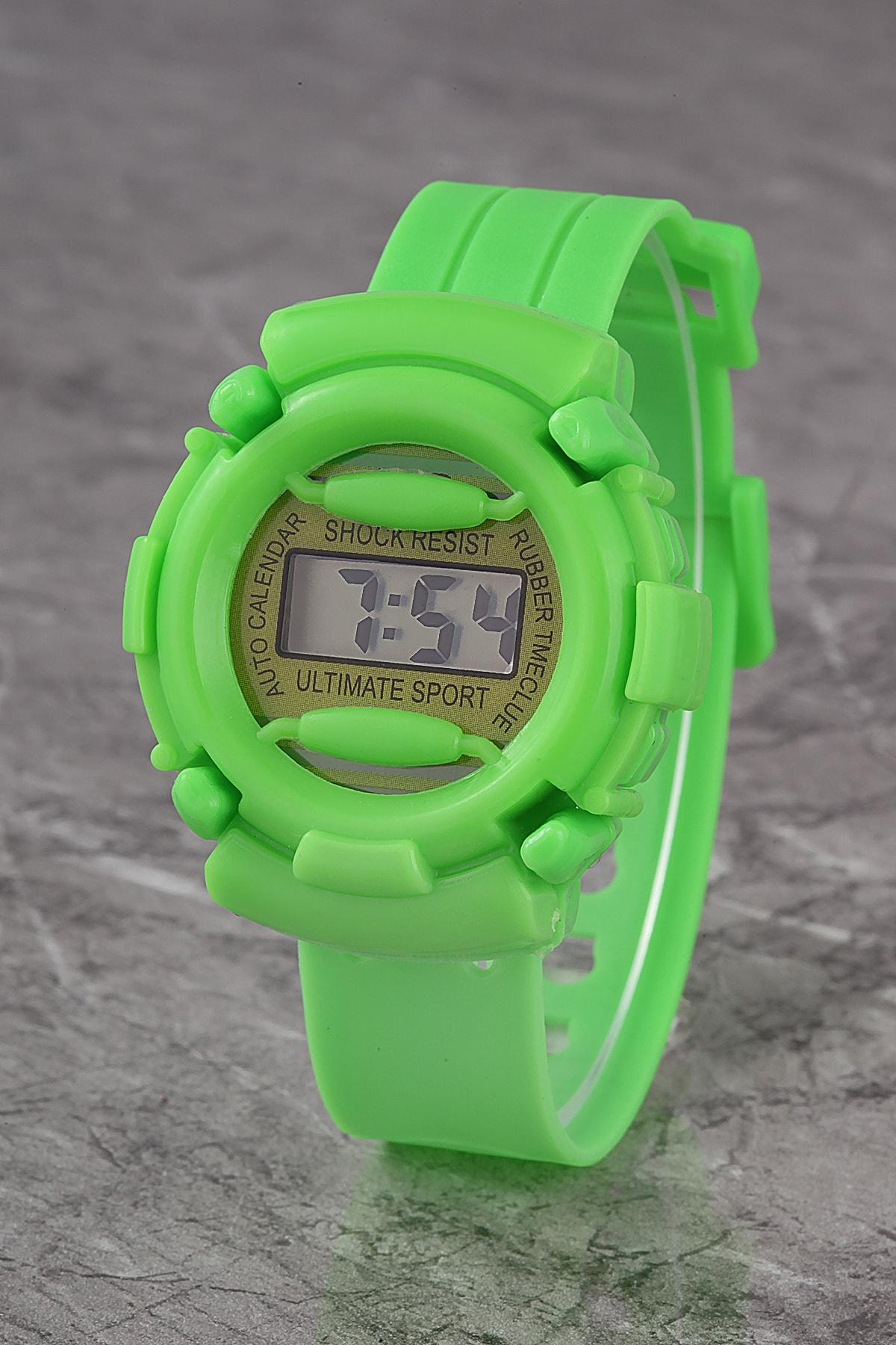 ساعت پسرانه ترک برند پولو 55 رنگ سبز کد ty48091435