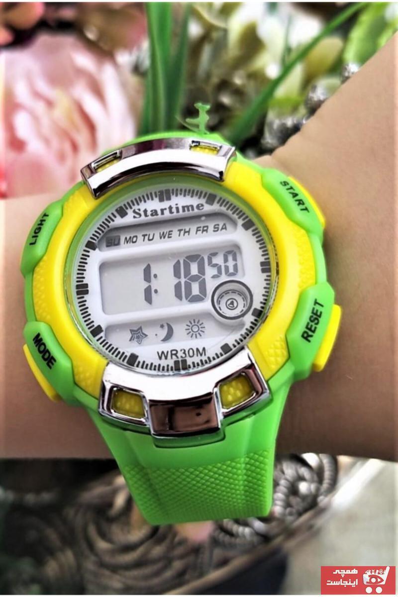 فروش نقدی ساعت پسرانه خاص برند Startime رنگ سبز کد ty99177723