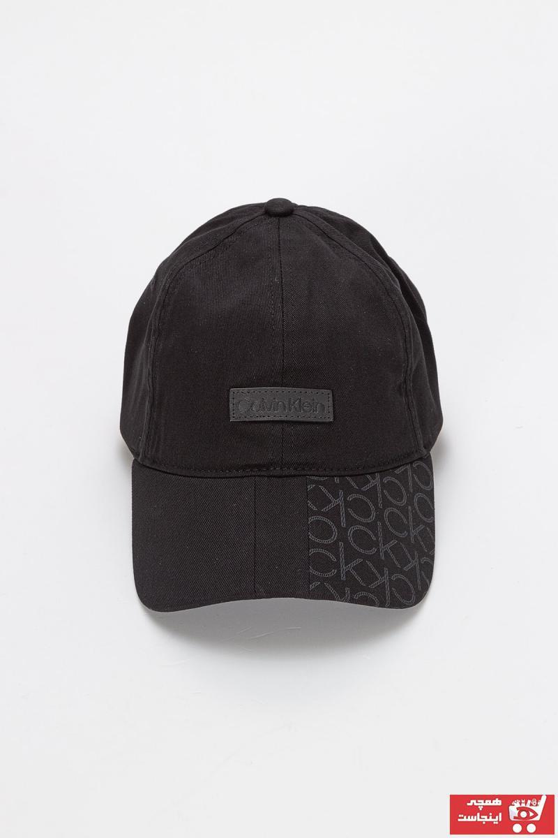 کلاه مردانه برند کلوین کلاین رنگ مشکی کد ty105083101