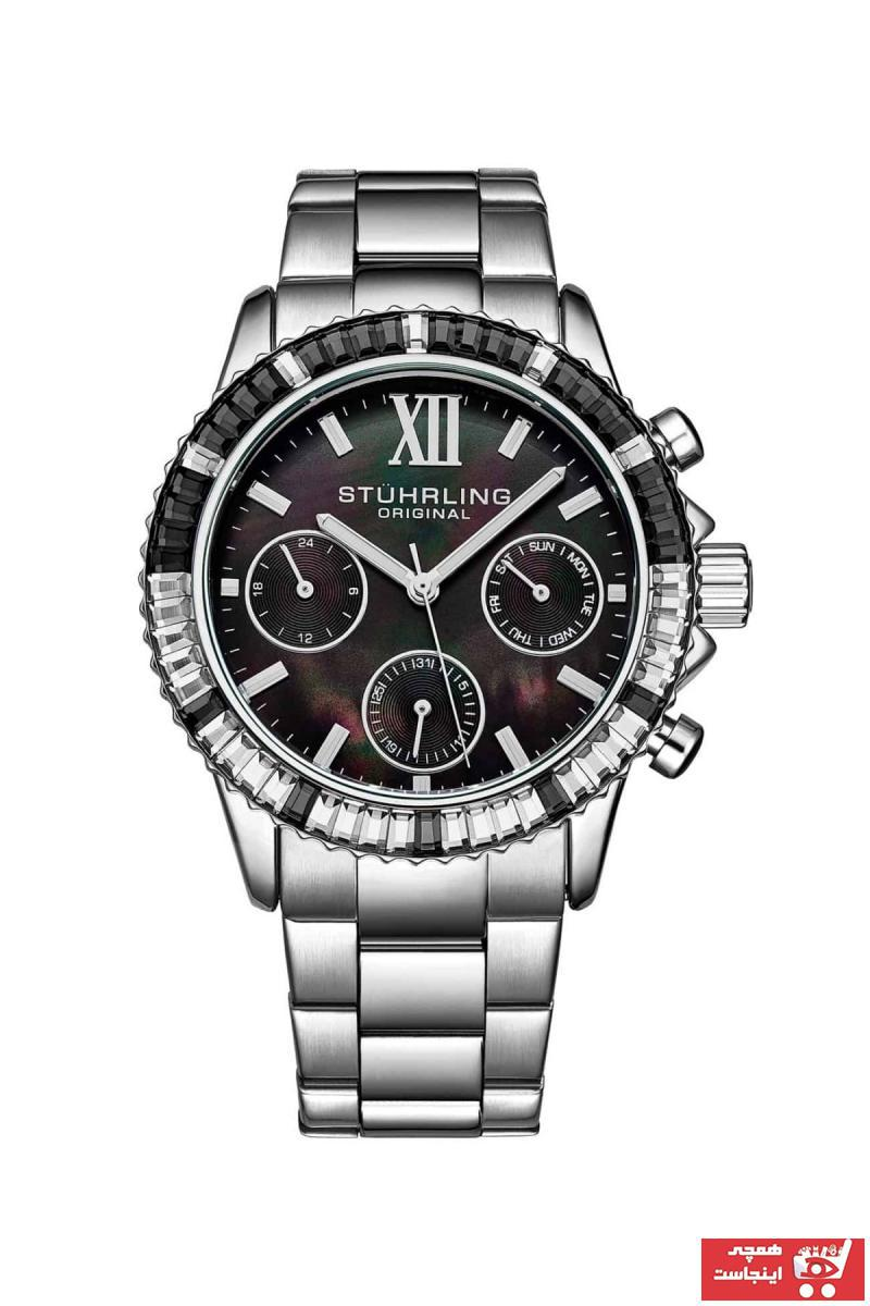 خرید ساعت 2021 مردانه برند استرلینگ رنگ نقره ای کد رنگ مشکی کد ty105752706