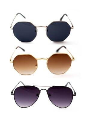 عینک آفتابی 2021 مدل جدید برند ModaLucci رنگ طلایی ty111841272