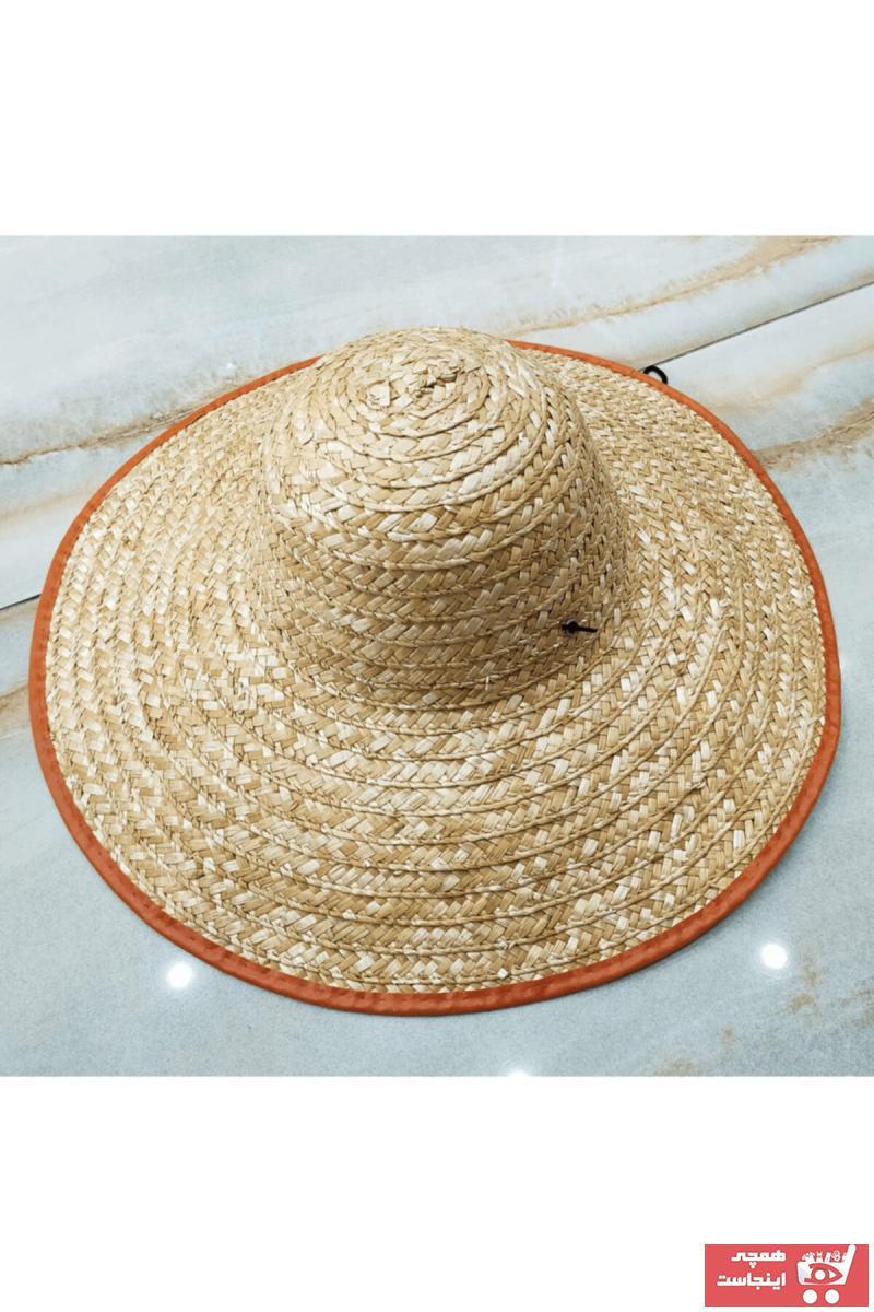 کلاه مردانه مارک دار برند safvan رنگ بژ کد ty115467856
