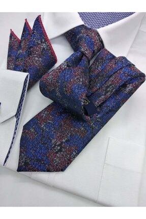 کراوات مردانه 2021 شیک برند Gutiero رنگ آبی کد ty119718382