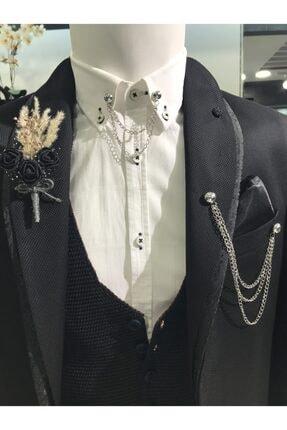 خرید اینترنتی کراوات مردانه برند araslar رنگ نقره کد ty119880814