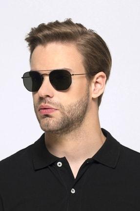 خرید عینک دودی مردانه ترک جدید برند Hane14 رنگ مشکی کد ty123055001