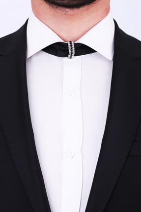 پاپیون اصل مردانه برند La Pescara رنگ مشکی کد ty2318364