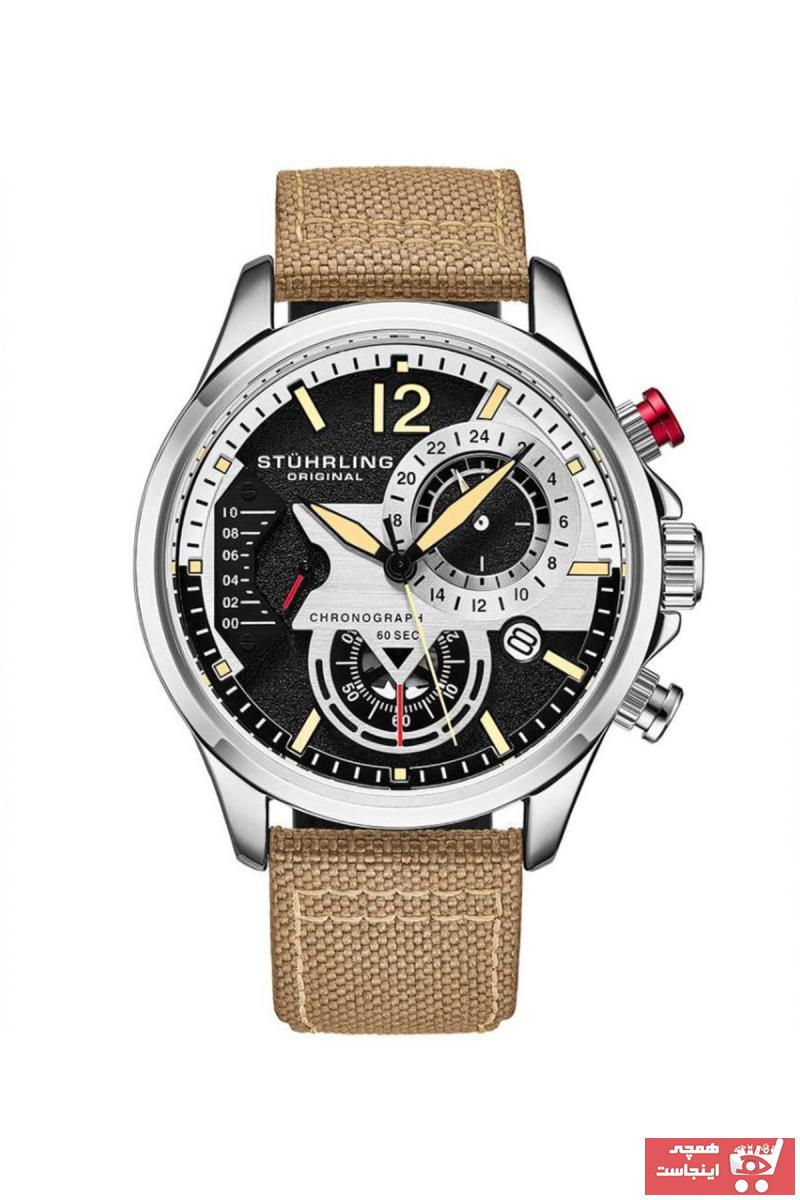 فروش پستی ساعت مردانه ترک برند Stührling رنگ مشکی کد ty33601891