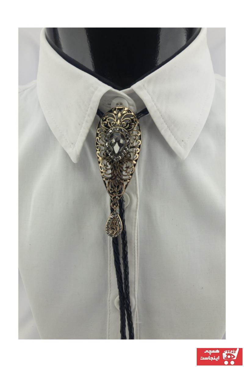 سفارش کراوات مردانه ارزان برند Zaim Aksesuar رنگ متالیک کد ty35776291
