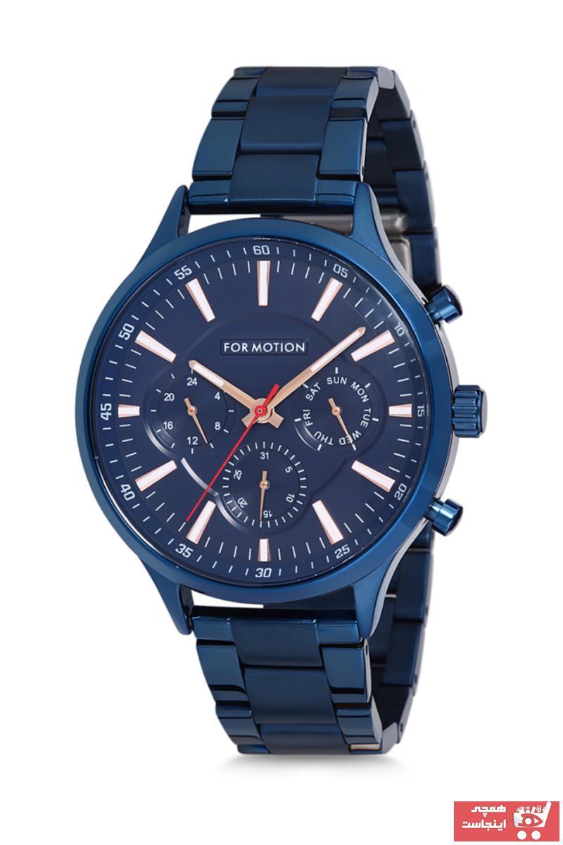 ساعت جدید برند Formotion رنگ آبی کد ty36357865