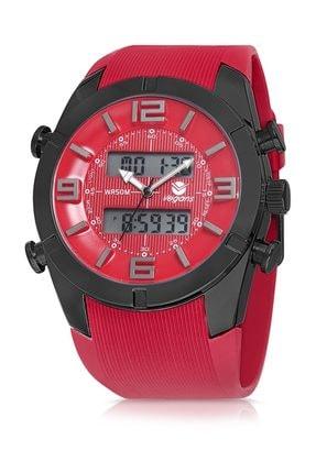 خرید انلاین ساعت مچی مردانه ترک برند Vegans رنگ قرمز ty36694341