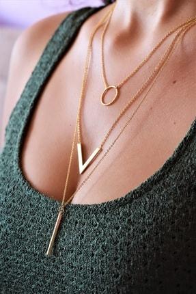 گردنبند جدید مردانه شیک برند LaDess ACCESSORIES & COLLECTIONS رنگ طلایی ty40917276