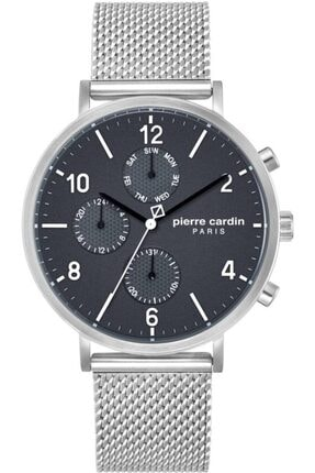 خرید پستی ساعت مردانه اصل مارک پیرکاردن رنگ کرمی کد ty4122960