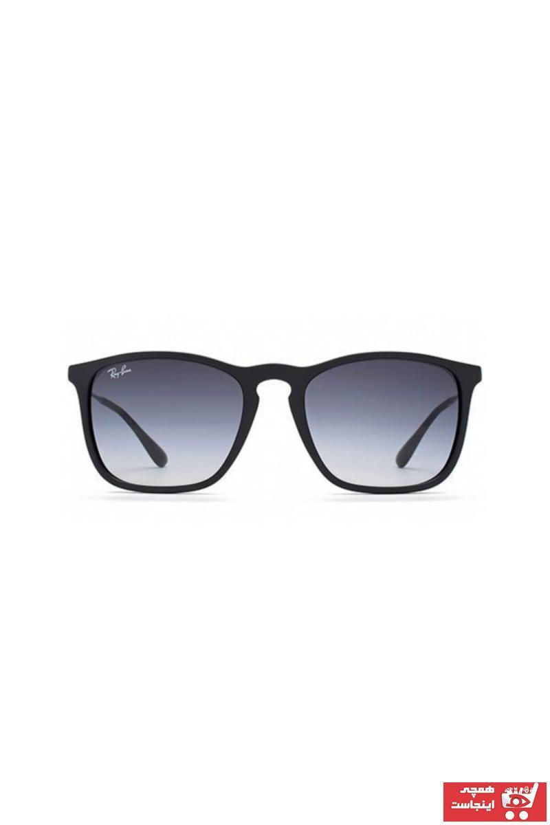 خرید انلاین عینک آفتابی جدید  اسپرت شیک برند ری بن رنگ مشکی کد ty42442570