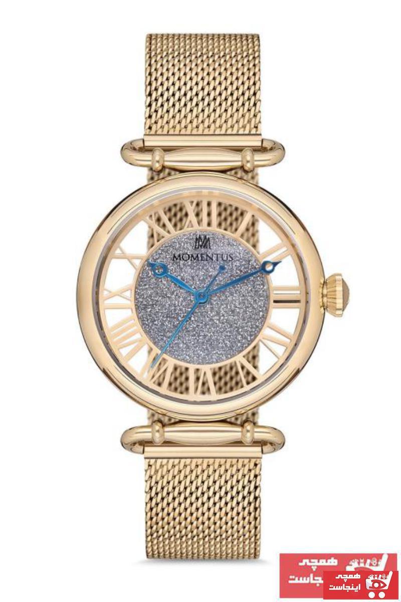 قیمت ساعت مردانه برند Momentus رنگ زرد ty44183145
