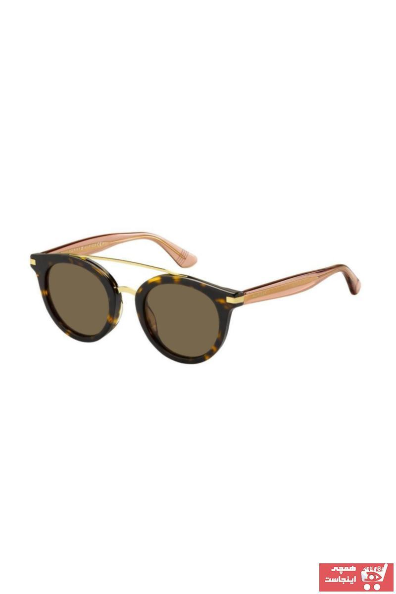 خرید پستی عینک دودی یونیسکس پارچه  برند تامی هیلفیگر رنگ قهوه ای کد ty4487016