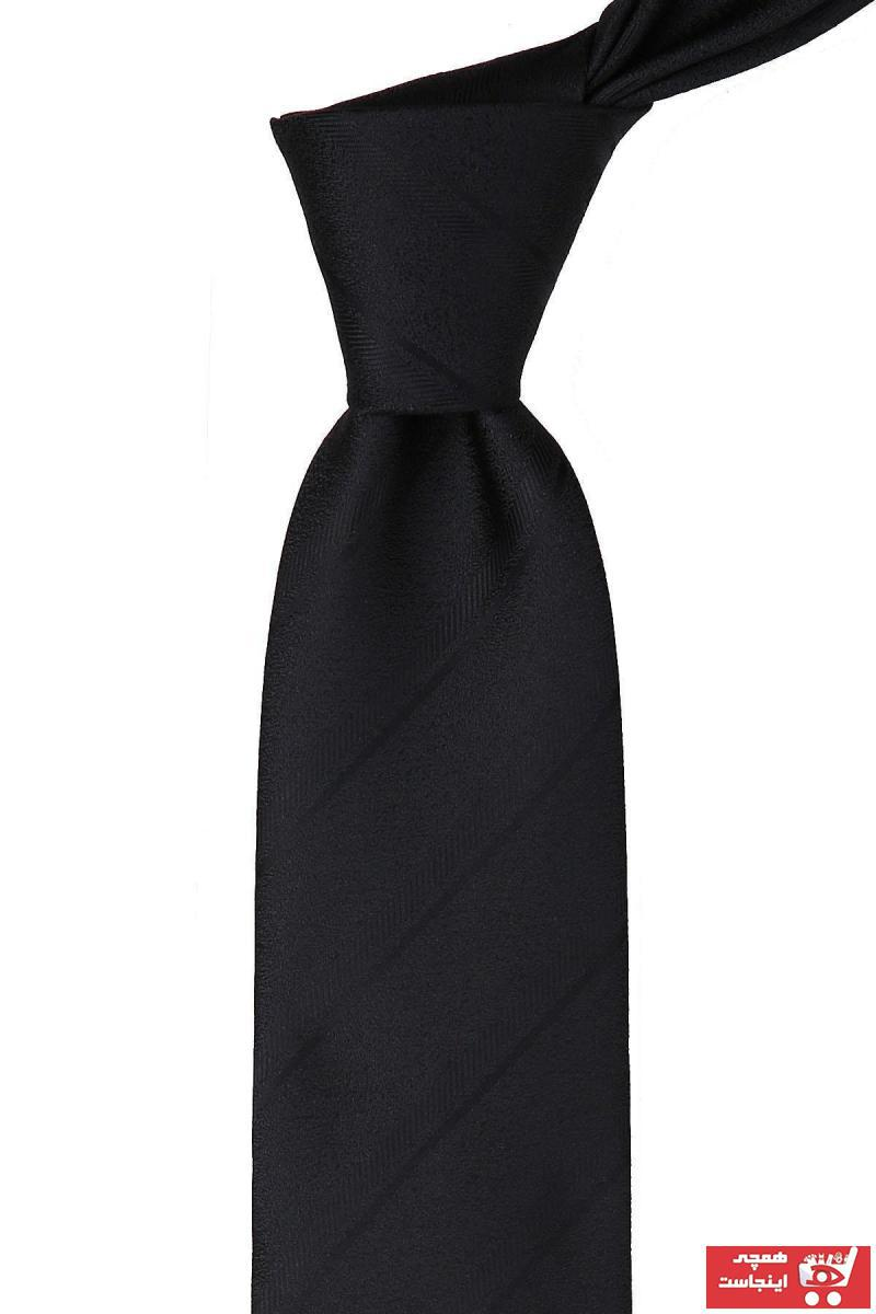 فروش کراوات مردانه اصل و جدید برند Kravatkolik رنگ مشکی کد ty45553257