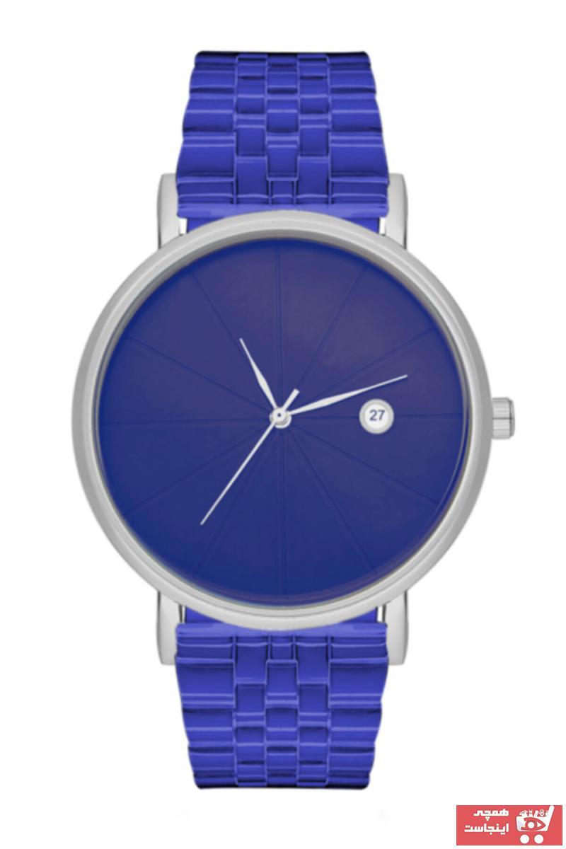 فروش ساعت مردانه ترک مجلسی مارک Aqua Di Polo 1987 رنگ آبی کد ty46323703
