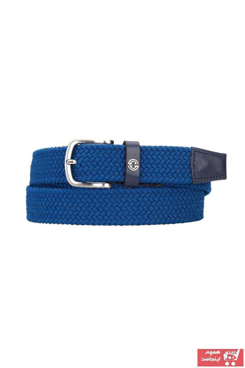 کمربند مردانه جدید برند Cachee Concept رنگ آبی کد ty50447802