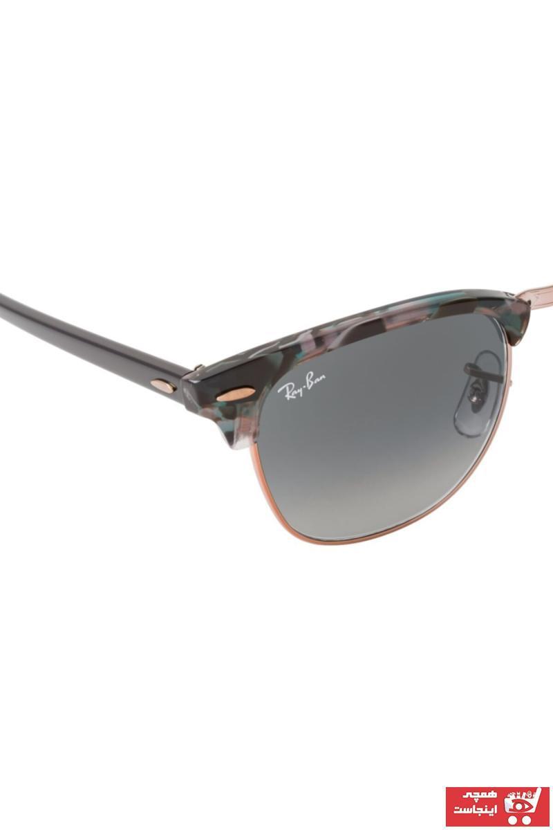 خرید مدل عینک آفتابی یونیسکس برند ری بن رنگ بژ کد ty57624347