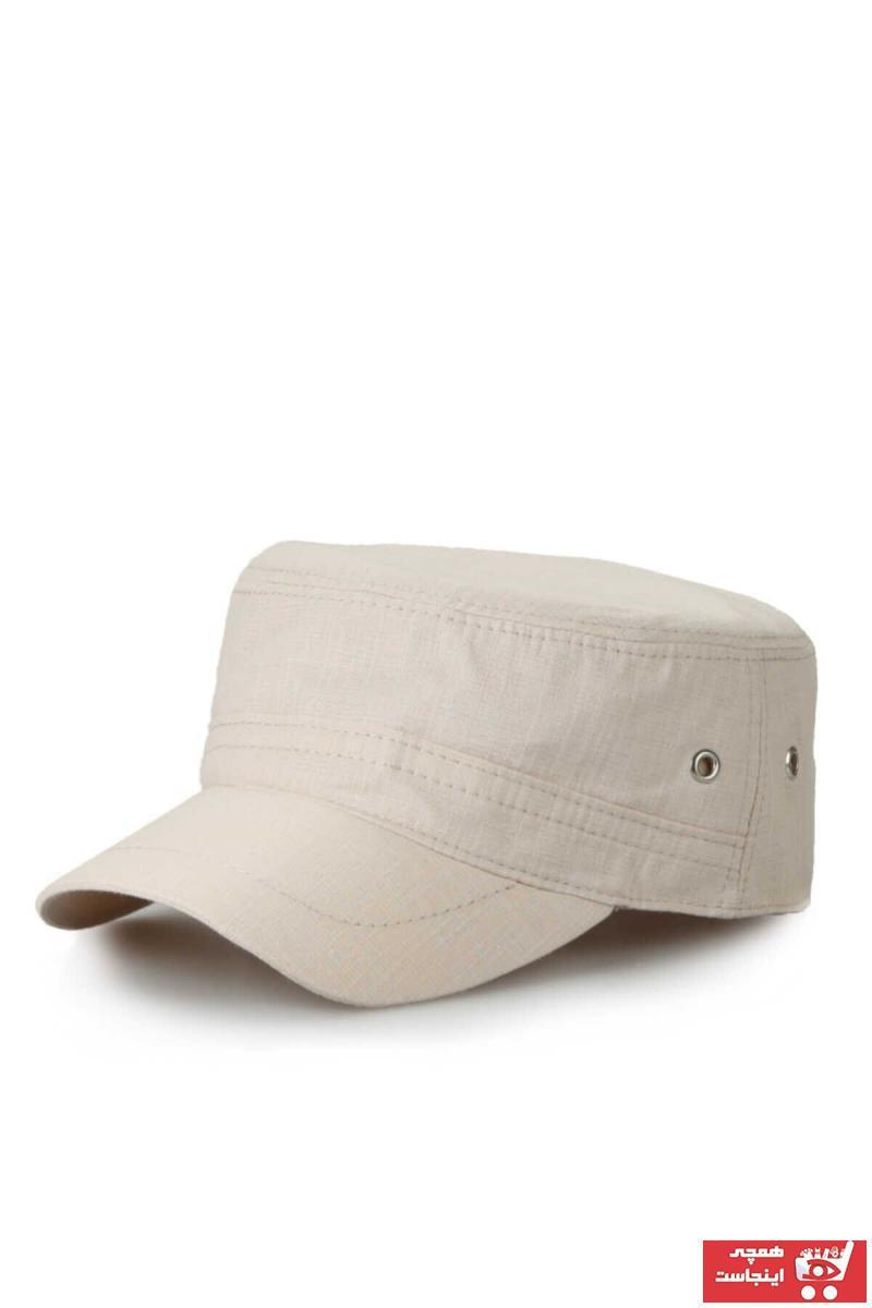 سفارش کلاه مردانه ارزان برند ERASTORE رنگ بژ کد ty80627837