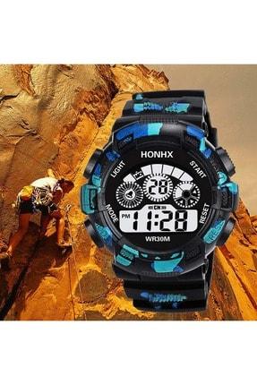 عکس ساعت مچی مردانه Honhx آبی ty87383587