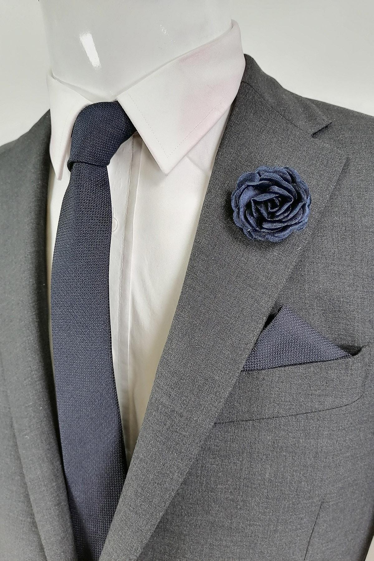 فروش کراوات جدید برند Kravatistan رنگ لاجوردی کد ty90730667