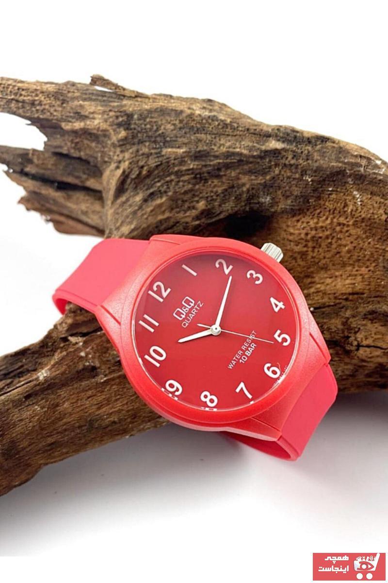 فروش نقدی ساعت مردانه خاص برند Q&Q رنگ قرمز ty94870246