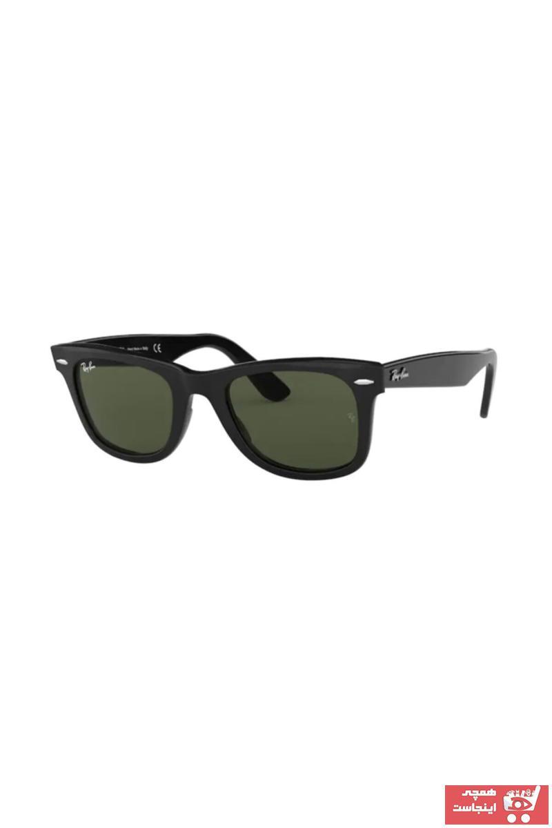 مدل عینک دودی 2021 برند ری بن رنگ بژ کد ty98894878