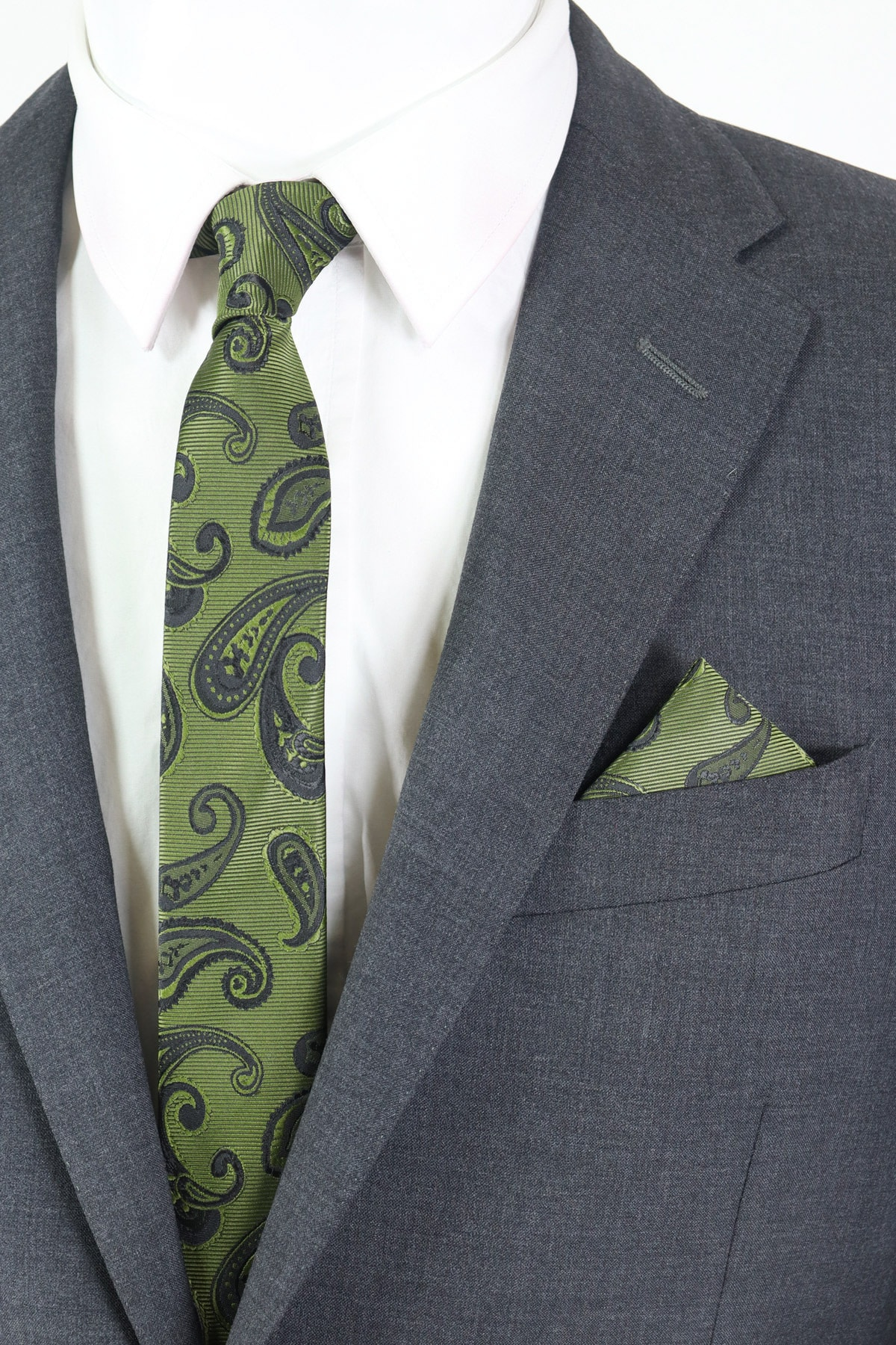 فروش کراوات  برند Kravatistan رنگ سبز کد ty99089657