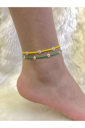 خرید نقدی پابند زنانه فروشگاه اینترنتی Beykan رنگ زرد ty104462068