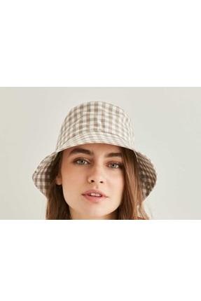 خرید نقدی کلاه زنانه ترک برند Vitrin رنگ قهوه ای کد ty104711241