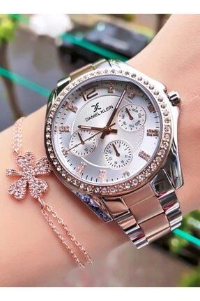 سفارش ساعت شیک زنانهاصل برند Daniel Klein رنگ نقره کد ty106850405