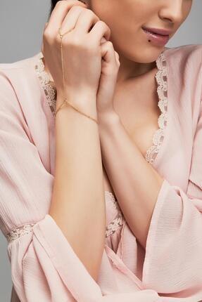 خرید ارزان دستبند انگشتی زنانه اسپرت برند New Obsessions رنگ طلایی ty109648072