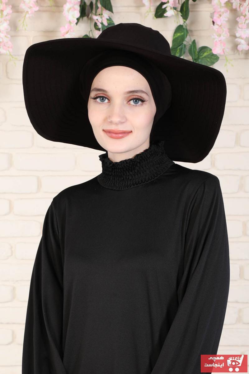 کلاه زنانه اسپرت جدید برند Ayşe Tasarım رنگ مشکی کد ty109962464